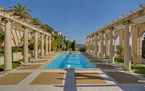 Palais Maeterlinck piscine