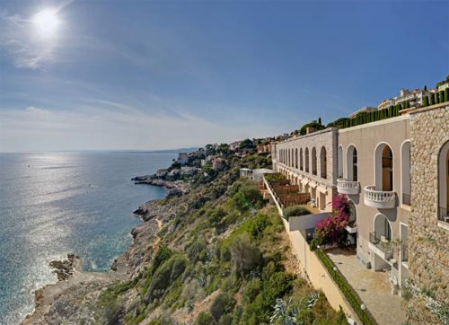 Palais Maeterlinck vue sur mer