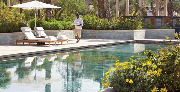 Piscine Four Seasons Marrakech
