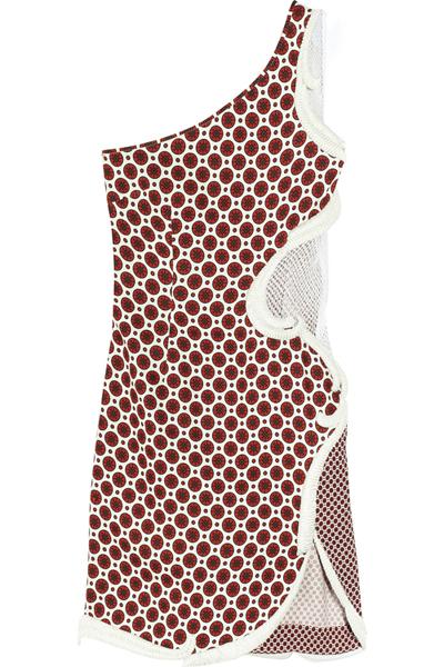 STELLA MCCARTNEY Rodney one-shoulder stretch-crepe dress €3,375
