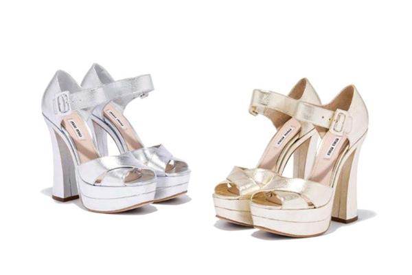 Sandales à talons Miu Miu