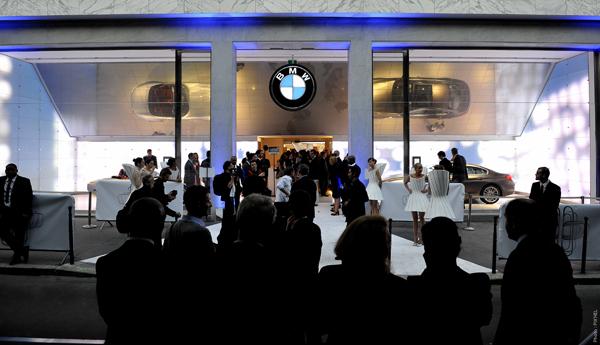 BMW George V, La soirée d'ouverture