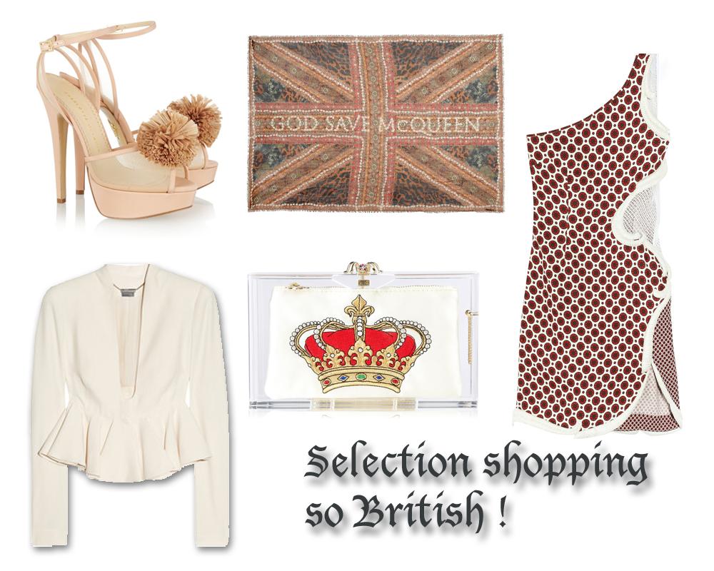 Look de la semaine : So British!