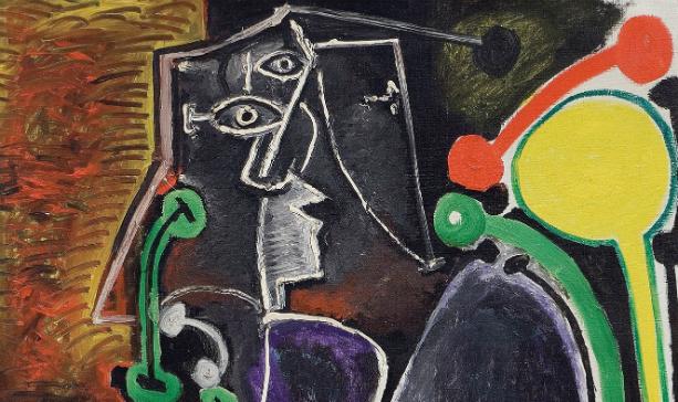 La Femme Assise de Picasso