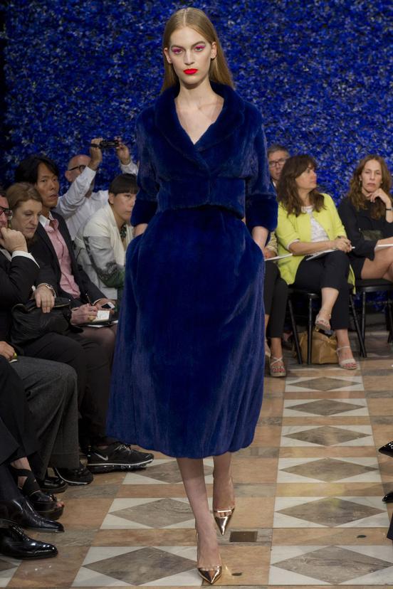 Défilé Dior by Raf Simons