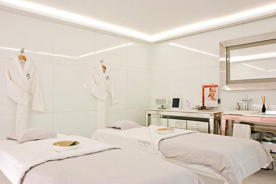 Cabine Spa My Blend by Clarins Royal Monceau