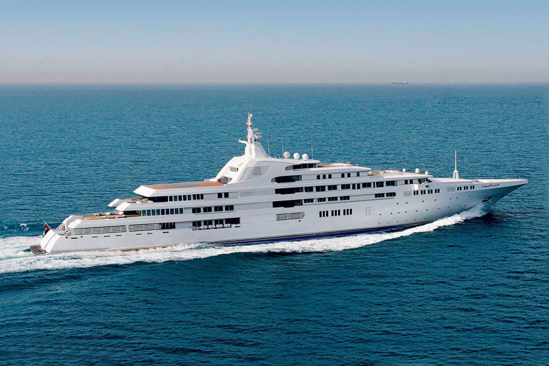 Yacht Dubaï