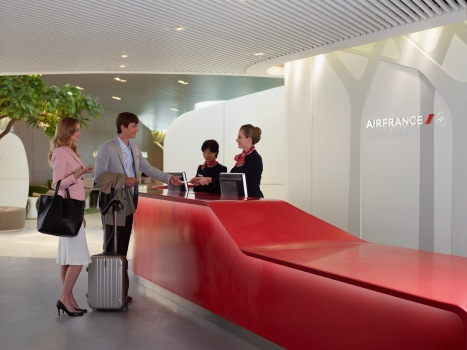 Le nouveau salon Air France