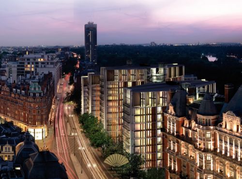 The Penthouse One Hyde Park, Londres (Angleterre)