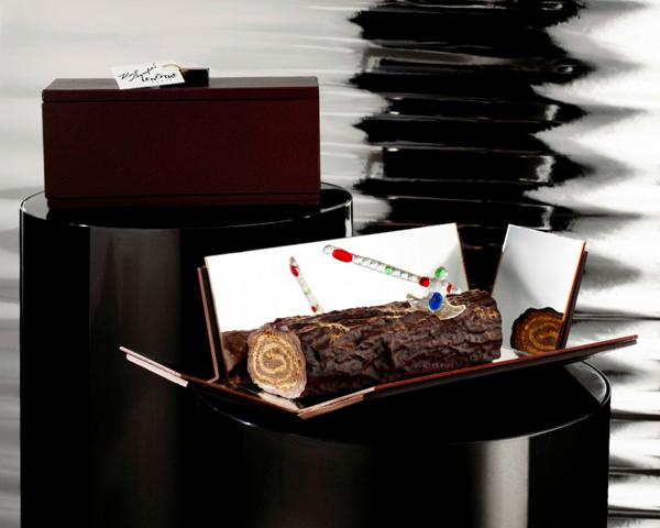 Bûche de Noël par Karl Lagerfeld