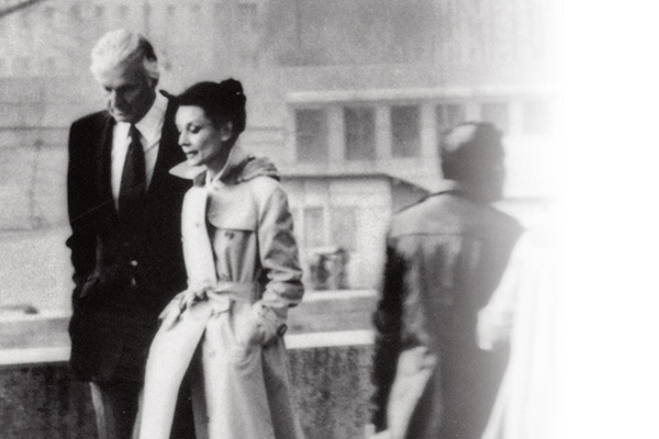 Hubert de Givenchy et Audrey Hepburn