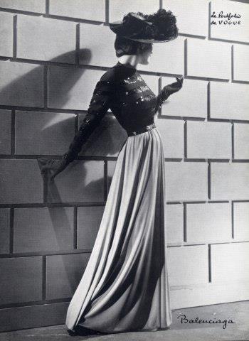 Balenciaga, robe du soir, 1940.