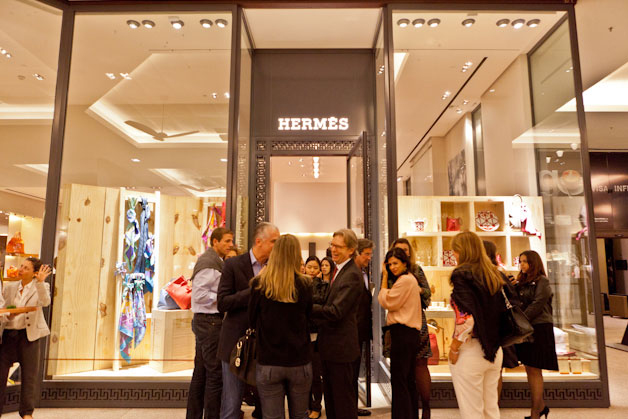 Hermes au centre commercial Cidade Jardim, Brésil