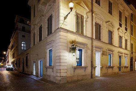 D'extérieur, un appartement romain typique