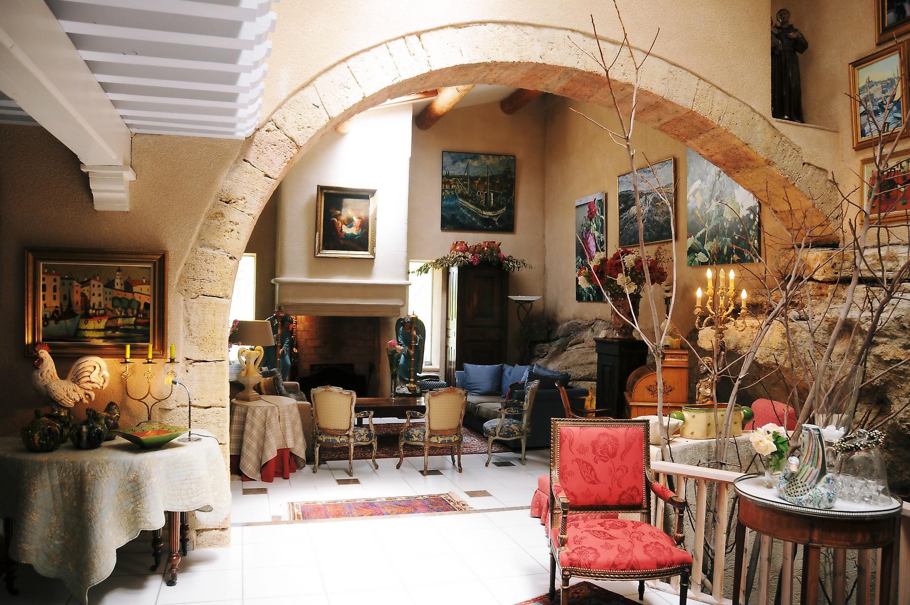 Le salon du Moulin de Bonfilhon