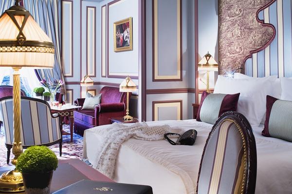 La Junior Suite 120 m2 : l'actuelle plus grande suite de l'hôtel