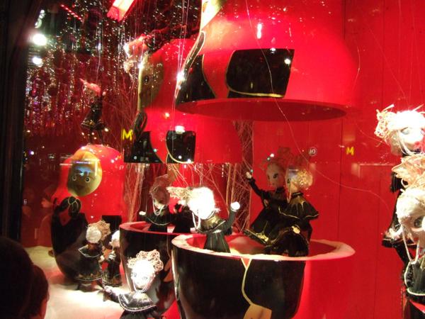 Dior au Printemps Haussmann en 2009