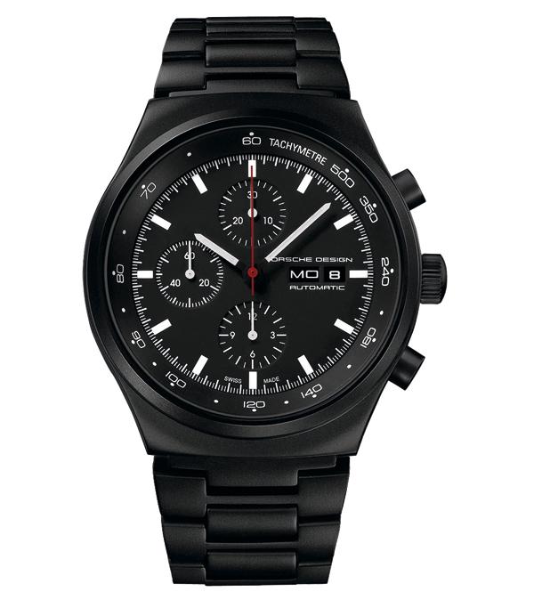 Première montre entièrement noire - Porsche Design