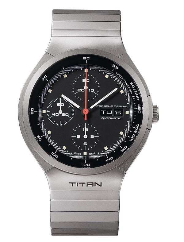 Première montre fabriquée en titane - Porsche Design