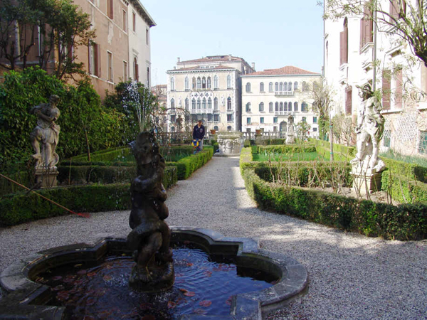 Les jardins Giardini à Venise