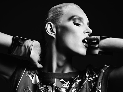 Anja Rubik Vogue Japan by Hedi Slimane Mai 2012