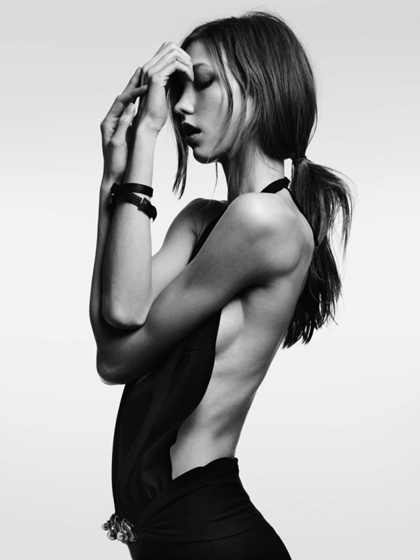 Karlie Kloss Vogue Japan by Hedi Slimane Février 2012
