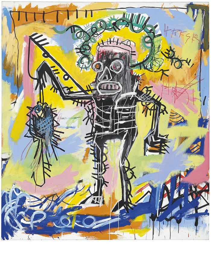 Jean-Michel Basquiat (1960-1988) - Untitled, 1981