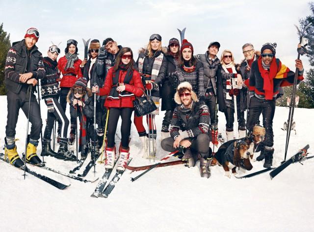 La collection « Snow Chic » de Tommy Hilfiger