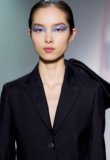 La paupière strass chez Dior