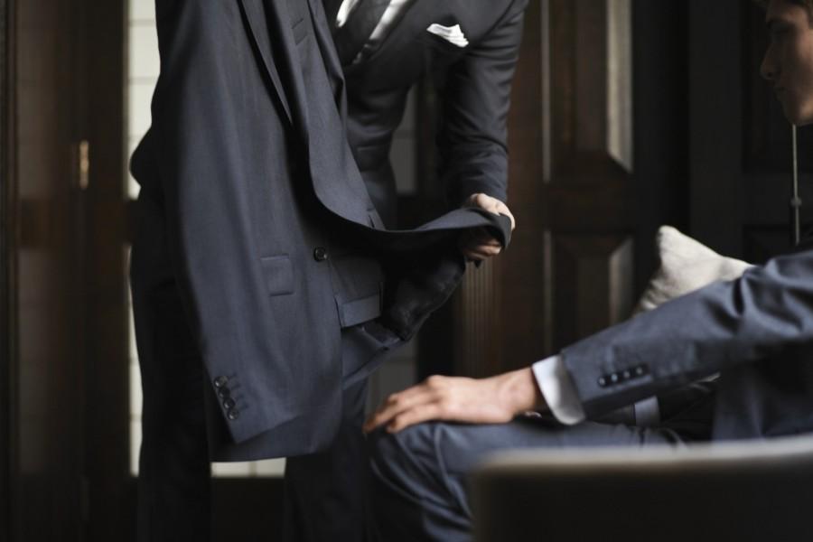 Boutique Burberry pour homme présente son service Burberry Tailoring