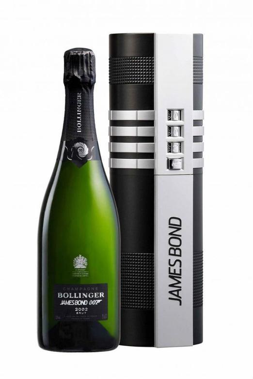 """Champagne Bollinger  """"Bollinger 002 for 007"""""""