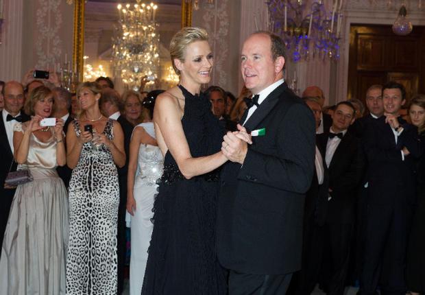 La Princesse Charlene de Monaco et le prince