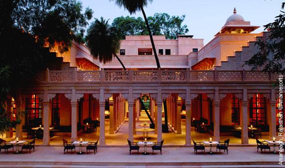 Shanti Experience à l'Amanbagh, Rajasthan