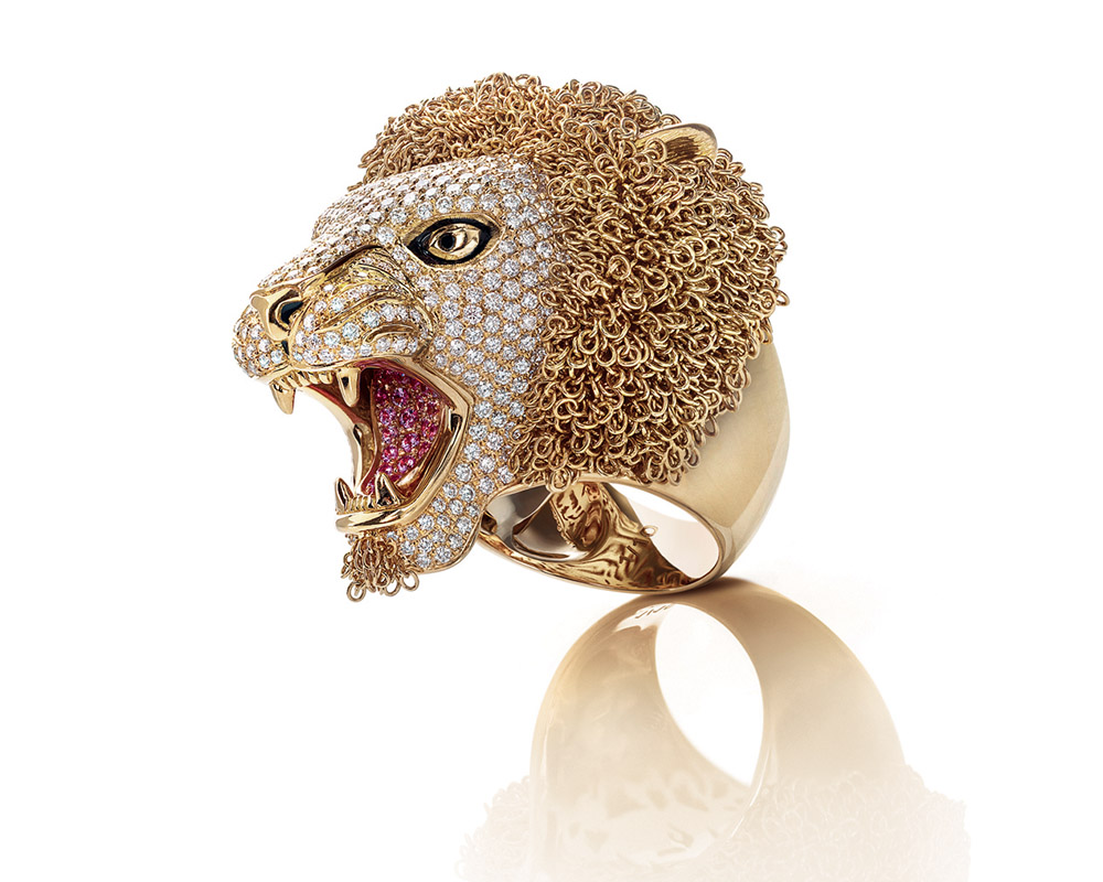 Roberto Coin Lion Ring - LIMITED EDITION