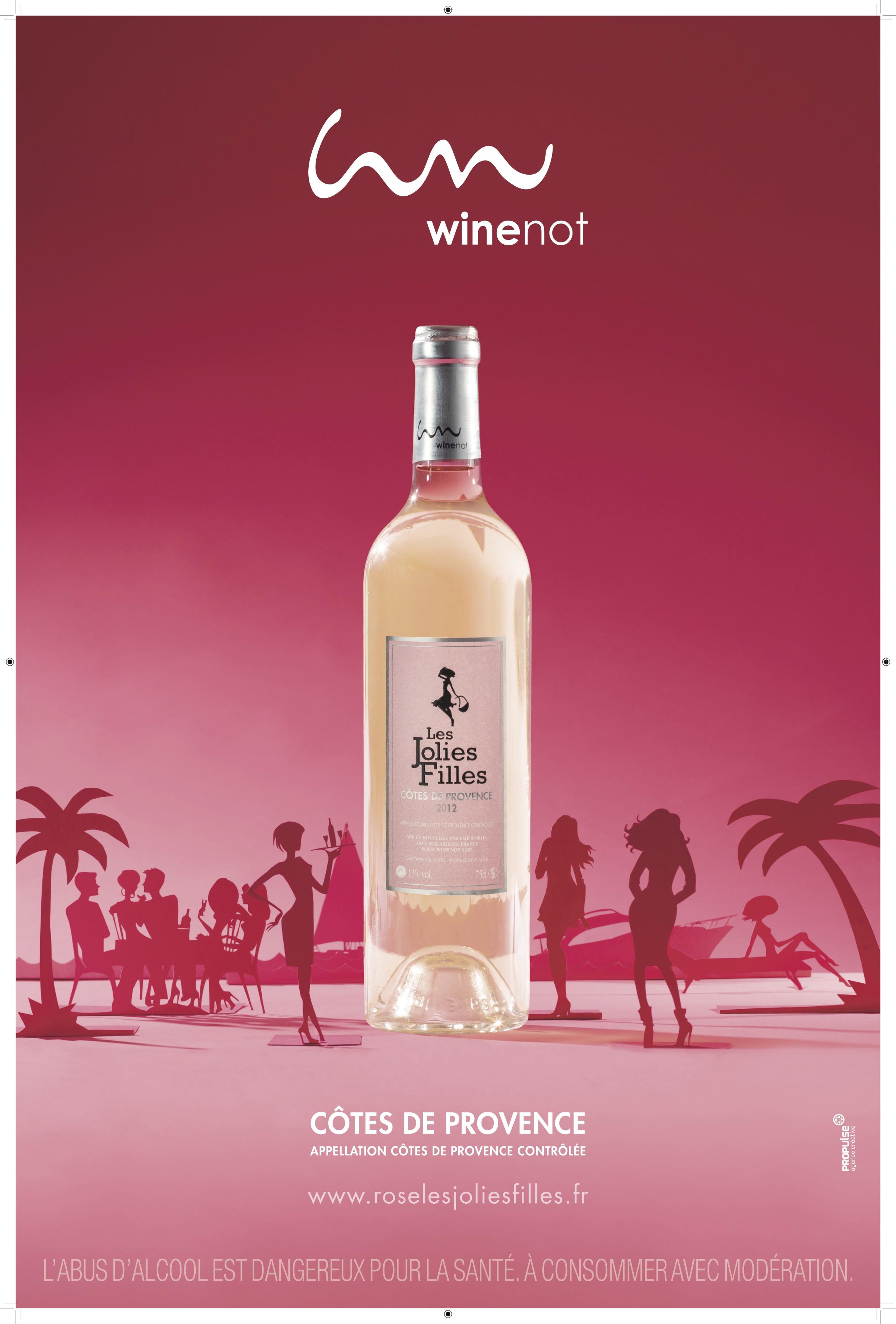 Wine Not - Les Jolies Filles - Côtes de Provence