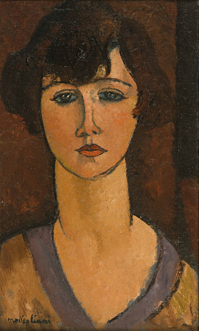 MODIGLIANI_Portrait