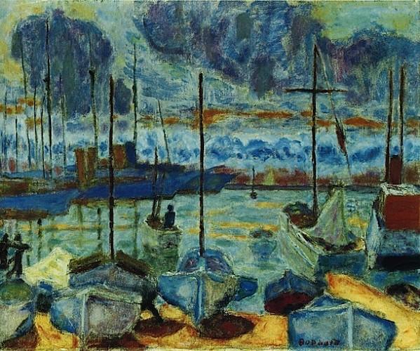Le-Grand-Atelier-du-Midi-Pierre-Bonnard-1927-Le-port-de-Caen