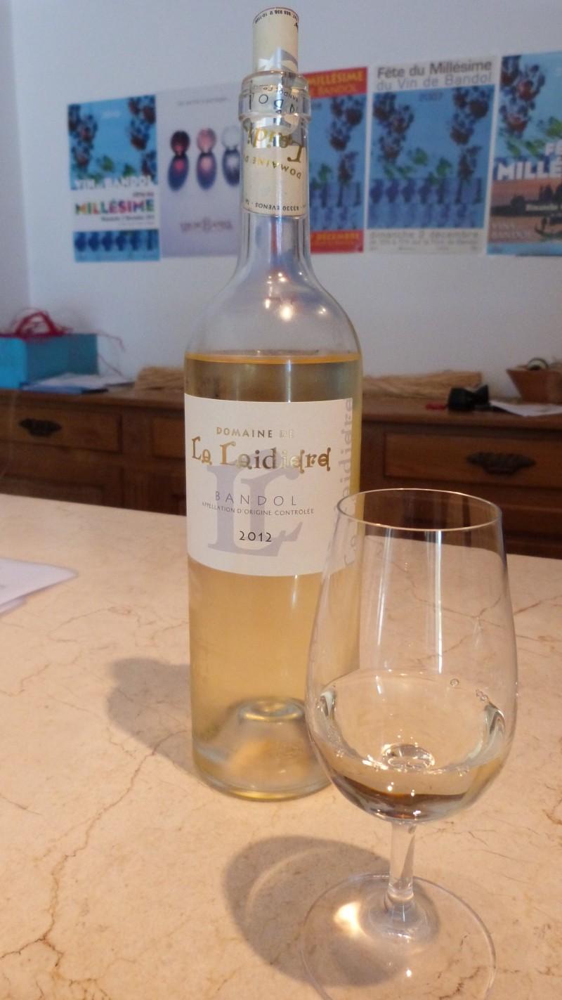 La Laidière - Bandol -Blanc 2012