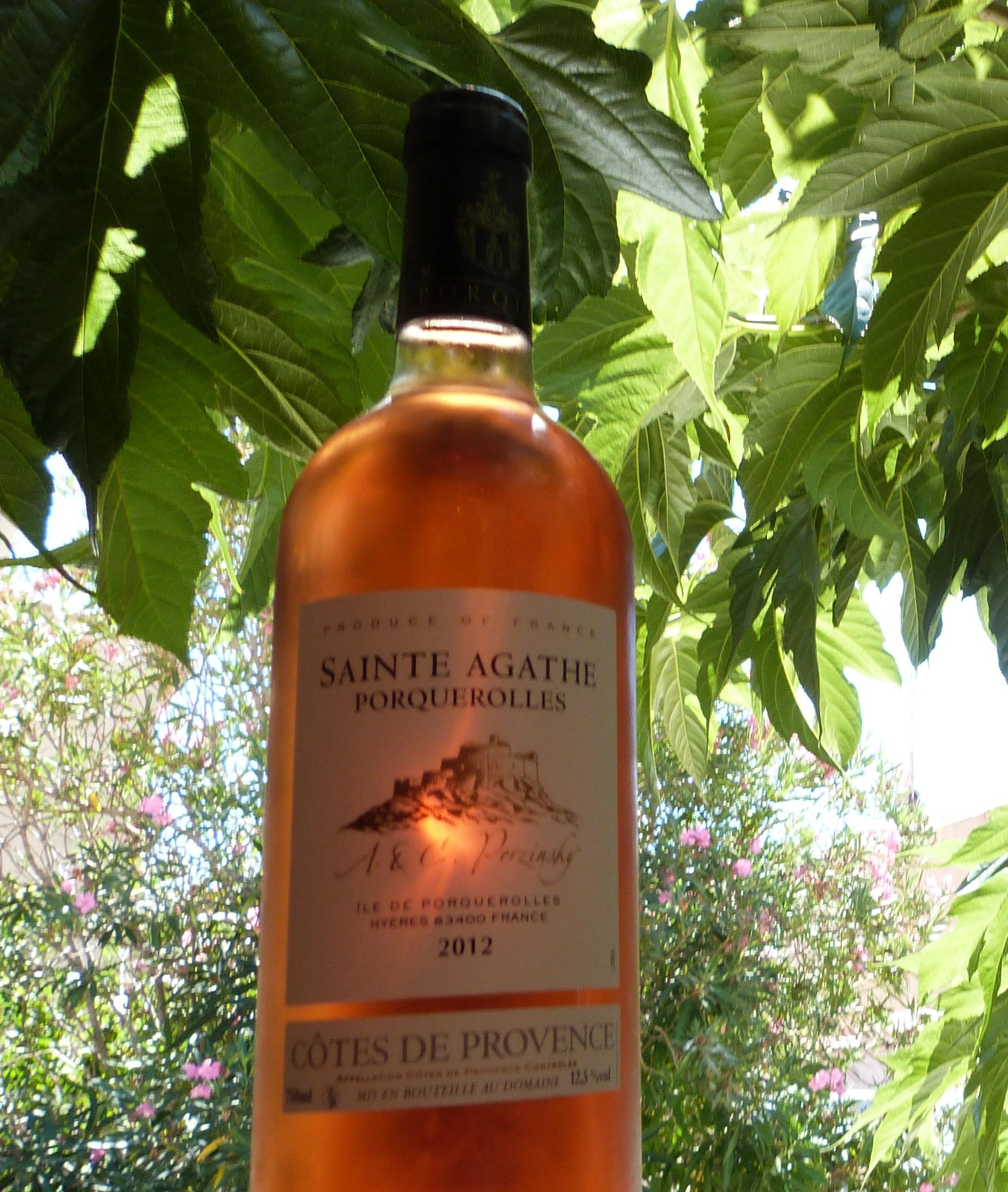 Côtes de Provence - Saint Agathe Rosé 2012