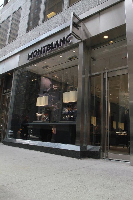 Boutique Montblanc Madison Avenue © Mioses de Pena