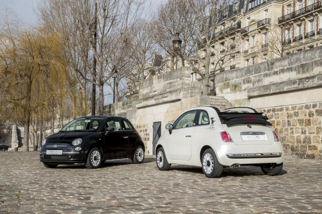 Fiat 500 et 500C La petite Robe noire