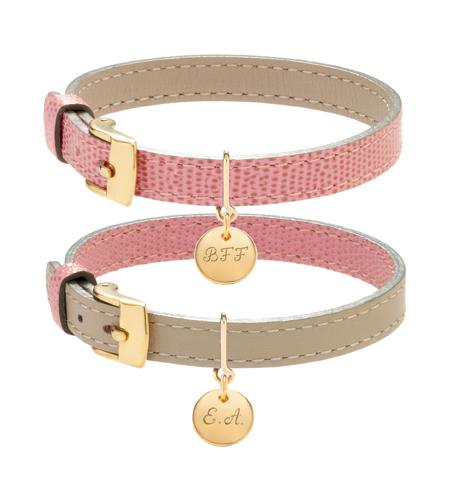 lilou_bracelet_cuir_rose_beige_medaille_1cm_plaqueor_48euros_lunite