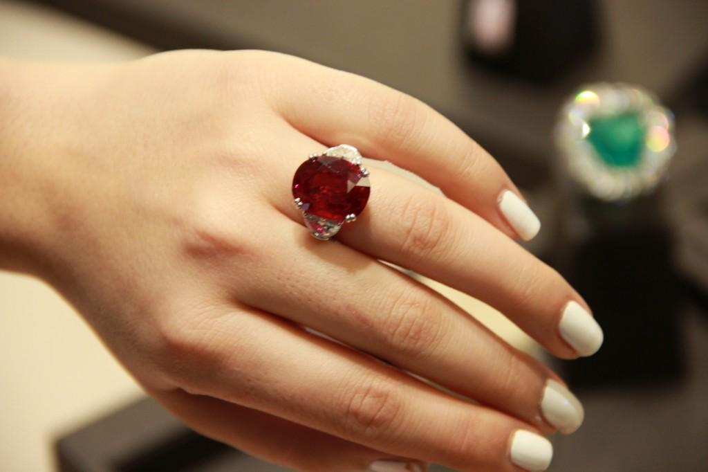 rubis de 18,50 carats de Birmanie