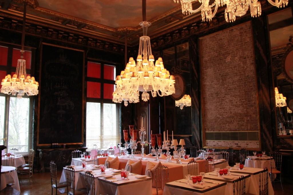 le restaurant : Cristal Room