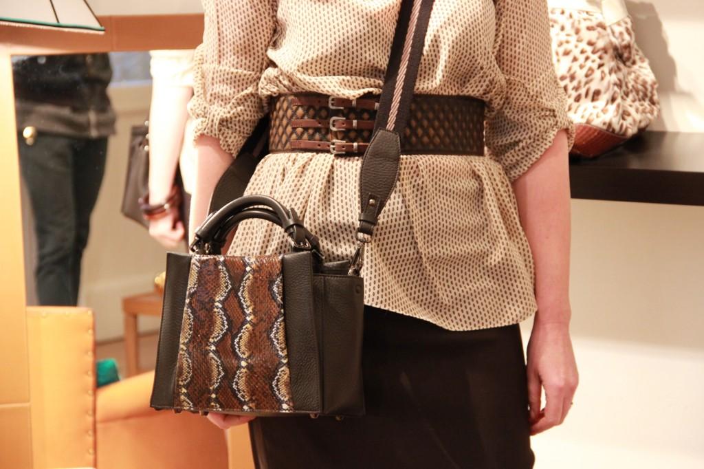 sac Bali en cuir et Pyhon, 1450 euros