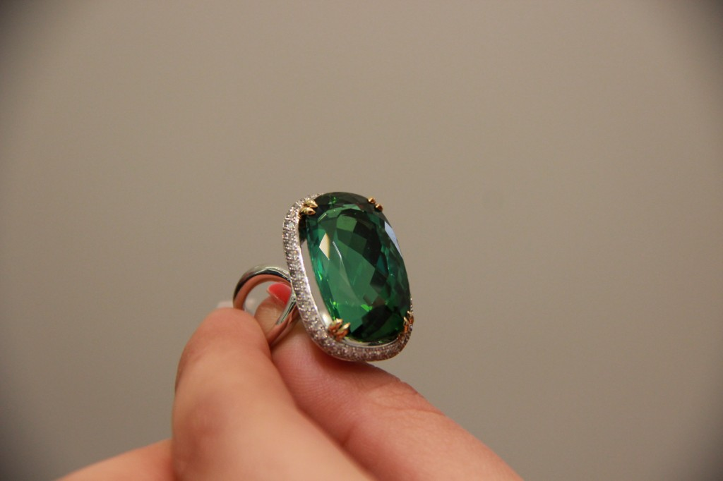 Pierre d'exception, Tourmaline, 23 carats. 34100 euros