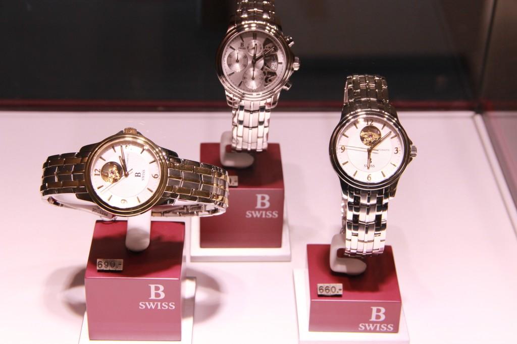 B Swiss, marque plus abordable de la Maison Bucherer.