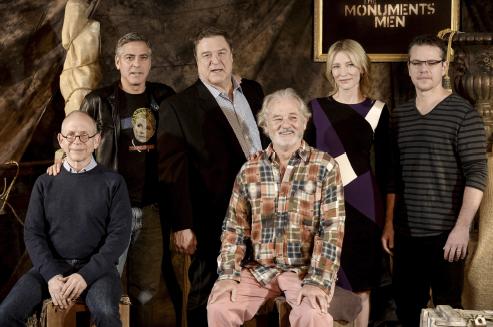 Cate Blanchett Monuments Men 2