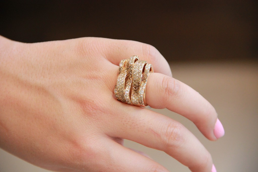 bague diamants chocolat 9450 euros