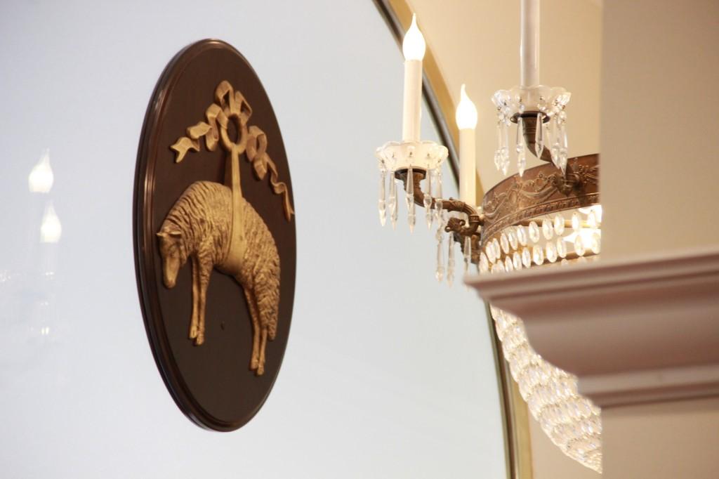 """le """"golden fleece"""", emblème de la maison"""